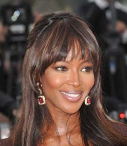 Hair loss in women: Naomi Campbell